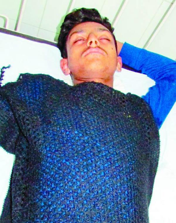 जी.ए.डी. एकैडमी के छात्र ने किया आत्महत्या का प्रयास