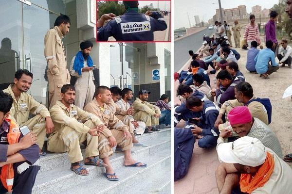 कुवैत के महाबुला में फंसे 2500 पंजाबी युवक, लगाई मदद की गुहार
