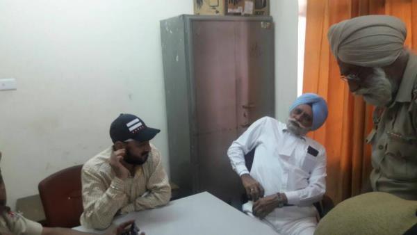 पठानकोट आंतकी हमले में विवादों में आए एस.पी.सलविंद्र ने किया आत्मसम्पर्ण