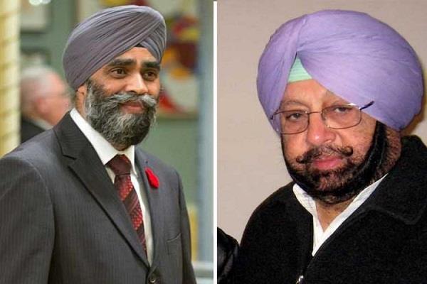 कनाडा के रक्षा मंत्री को मिलने से इंकार करके कैप्टन ने 'गड़े मुर्दे उखाड़े'