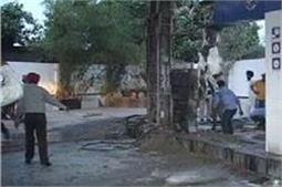 अमृतसर में पेट्रोल पंप को लगी भयानक आग, ड्राइवर ने बचाई कई जिन्दगियां