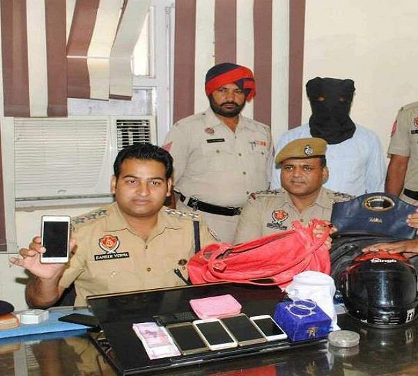 पॉश इलाकों में लूट की वारदातें करने वाला गिरफ्तार