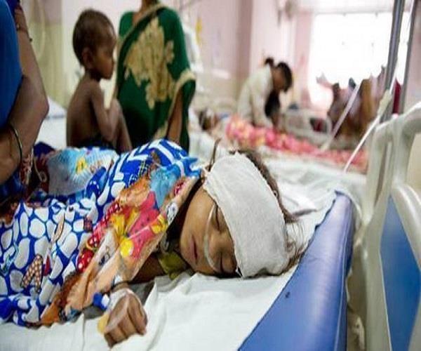BRD मेडिकल कॉलेज में मस्तिष्क ज्वर ने इस साल ली 322 बच्चों की जान
