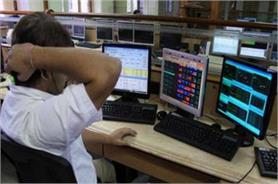 कमजोर आंकड़ों से एक साल के निचले स्तर पर शेयर बाजार