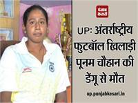 UP: अंतर्राष्ट्रीय फुटबॉल खिलाड़ी पूनम चौहान की डेंगू से मौत