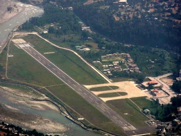 हिमाचल के इस एयरपोर्ट पर धुंध, बारिश में भी उतर सकेंगे Airplane