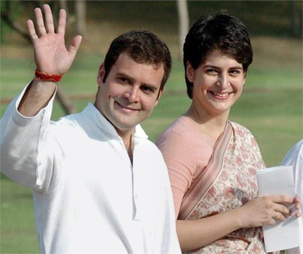 राहुल गांधी के साथ यूपी चुनाव में मोर्चा संभालेंगी प्रियंका गांधी