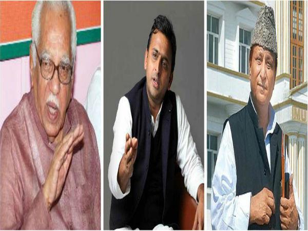 आज़म के बयानों से नाराज नाईक ने CM को लिखा पत्र