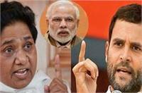कांग्रेस,बसपा का मोदी पर पलटवार, कहा- PM ने प्रतिपक्ष पर लगाया बेईमानों को बचाने का आरोप