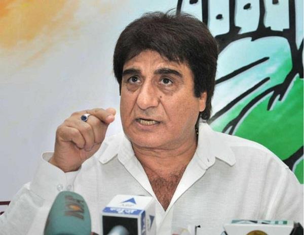 मायावती के बाद राजबब्बर का हमला, कहा-EVM में गड़बड़ी से जीती BJP