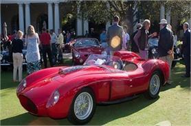 Ferrari Spider 1957 में बनी कार की नीलामी में रिकार्ड बोली