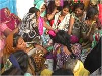 संदिग्ध परिस्थितियों में विवाहिता की मौत, परिजनों ने लगाए चौंकाने वाले आरोप
