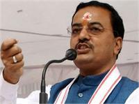 ''सपा आजमगढ़ में ''कुछ छिपाना चाहती है''