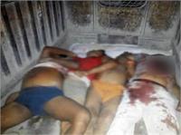इलाहाबाद में मंदिर विवाद को लेकर हुई 5 हत्याओं के मामले में 7 गिरफ्तार (Pics)