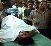 कानपुर में फिर मंडराया गैंगवार का खतरा, हिस्ट्रीशीटर की सरेआम हत्या
