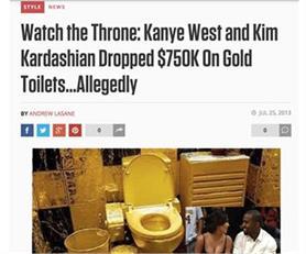 Omg!  सोने का टॉयलेट तो कभी सोने के अंतवस्त्र, ये सब देख आप भी यही कहेंगे- ये तो हद है यार