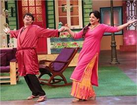 pics: ''द कपिल शर्मा शो'' में लौटीं ''पिंकी बुआ'', कुछ इस तरह की मस्ती