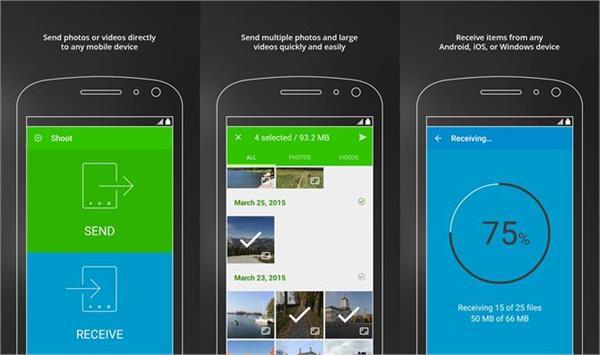 हैवी फाइल्स ट्रांसफर करने में मदद करेगी यह एप्प