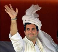 तूफानी दौरे पर आज अमेठी पहुंचेंगे राहुल, देंगे 1 करोड़ की सौगात