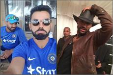 वैस्टइंडीज में टीम इंडिया ने कुछ यूं की मस्ती