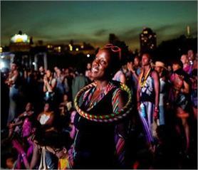 म्यूजिक लवर्स ने की Afropunk फेस्टिवल में मस्ती, तस्वीरें वायरल