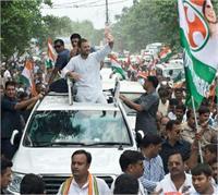 कानपुर में आज राहुल गांधी का रोड शो, साथ करेंगे खाट सभा