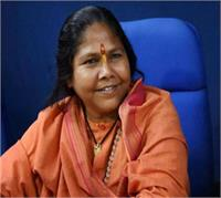 UP चुनाव में सरकार के विकास कार्य मुद्दा होंगे न कि राम मंदिर: साध्वी निरंजन
