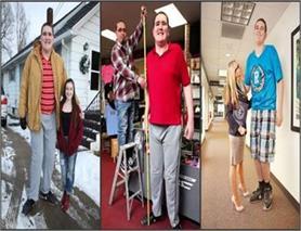 दुनिया का सबसे लंबा Teenager! (Pics)
