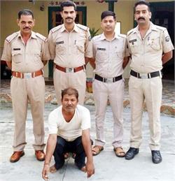 महिला को भगा ले जाने वाला ढोंगी बाबा राजस्थान से गिरफ्तार
