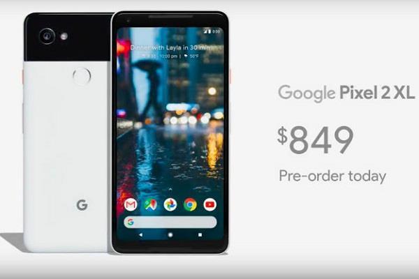 गूगल ने लॉन्च किए पिक्सल 2 और पिक्सल 2 XL स्मार्टफोन्स, बुकिंग्स आज से शुरू