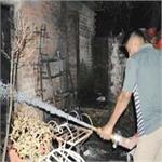 दीपावली पर आतिशबाजी से लगी भीषण आग, जिंदा जला युवक