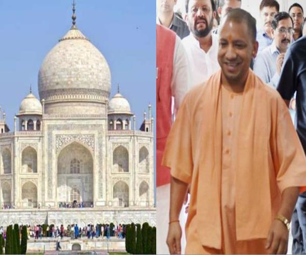 योगी के ताज दौरे को लेकर तैयारियां जोरों पर, DM व SSP ने किया मुआयना