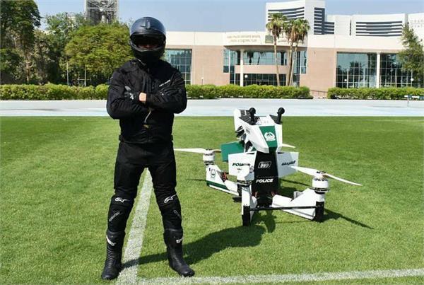 चोरों को आसानी से पकड़ने के लिए दुबई पुलिस को अब मिलेंगी होवरबाइक्स