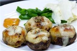 मशरूम खाने के हैं शाैकीन ताे घर पर बनाएं Stuffed Baked Mushrooms