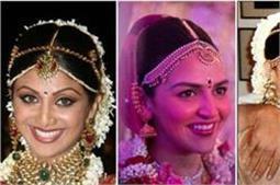 इन डीवाज ने अपनी शादी में पहने थे खूबसूरत मांगटीके