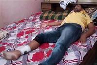 BJP नेता को बदमाशों ने मारी गोली, सूचना पर भी नहीं पहुंची पुलिस