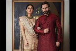 आमिर की Diwali Bash में रॉयल लुक में पहुंचे Kareena और Saif
