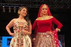 BGTFW: नुपूर वासदेव की हैवी ज्वैलरी पहन रैंप पर उतरी श्रीदेवी
