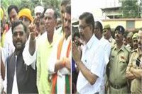 BJP सांसद की गुंडईः पुलिसवाले को कहा 'कुत्ता', DM-SP को दी धमकी
