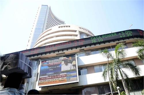 शेयर बाजार में बढ़त, सैंसेक्स 117 अंकों की तेजी के साथ बंद