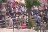 इलाहाबाद विश्वविद्यालय भाषण समारोह के दौरान बमबाजी, टला बड़ा हादसा