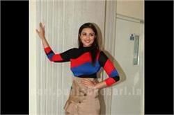 इवेंट के दौरान ब्लॉक प्रिटेंड ड्रैस में परिणीति का दिखा Stunning look