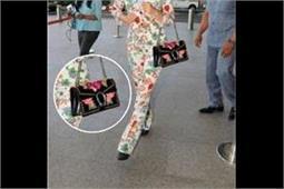 इतना महंगा हैंडबैग पकड़े एयरपोर्ट पर दिखीं कंगना, कीमत जान हैरान रह जाएंगे आप!