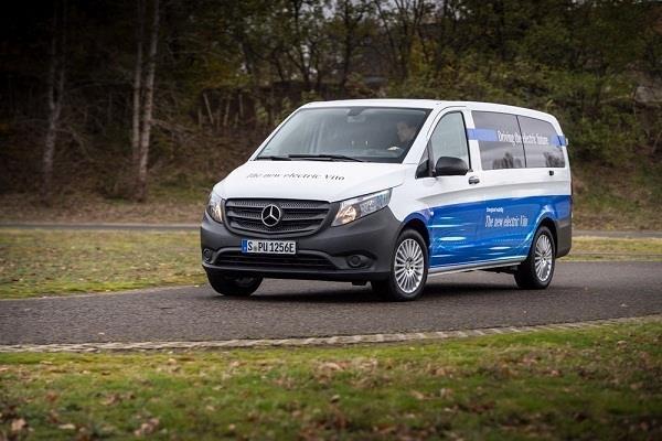 एक चार्ज में 150 किलोमीटर का सफर तय करेगी मर्सिडीज की नई eVito
