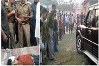 10 वर्षीय बालक को स्कार्पियों कार ने बुरी तरह से कुचला, गुस्साए लोगों ने किया हंगामा