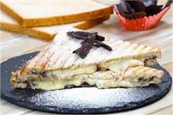 नाश्ते में बच्चों को बनाकर दें Cheese Chocolate Sandwich