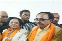 पूर्व मेयर कैंडिडेट कुसुम शर्मा ने छोड़ा कांग्रेस का हाथ, BJP में हुई शामिल