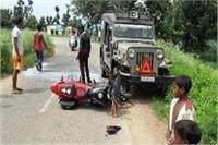 सड़क दुर्घटना में एक ही परिवार के 2 भाईयों की मौत