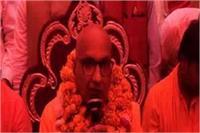 स्वामी प्रबोधानंद का विवादित बयान, कहा- ताजमहल में दिखाई देते हैं शिव मंदिर के चिन्ह