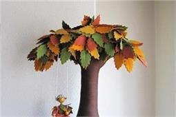Handmade Felt Trees को बनाएं डैकोरेशन का खास हिस्सा